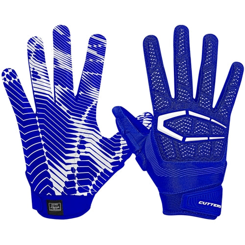 Cutters S652 The Gamer 3.0 Gloves Adult - Royal