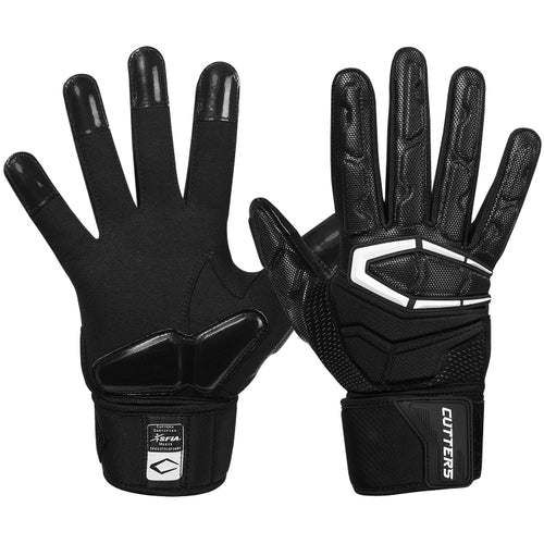 Cutters S932 The Force 3.0 Gloves Adult - Black - HIT A Double