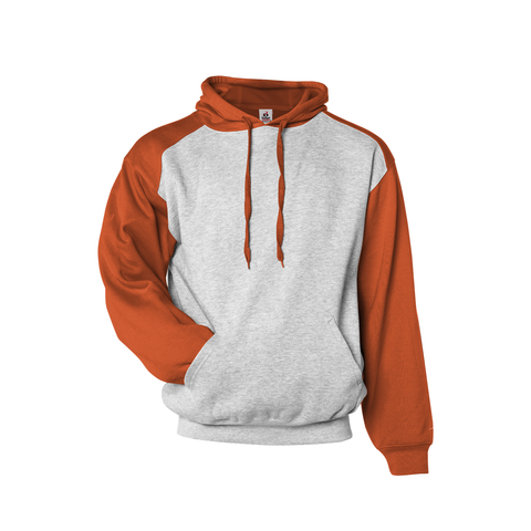 Badger 1249 Athletic Fleece Sport Hood - Oxford Orange