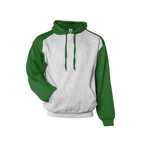 Badger 1249 Athletic Fleece Sport Hood - Oxford Kelly Green