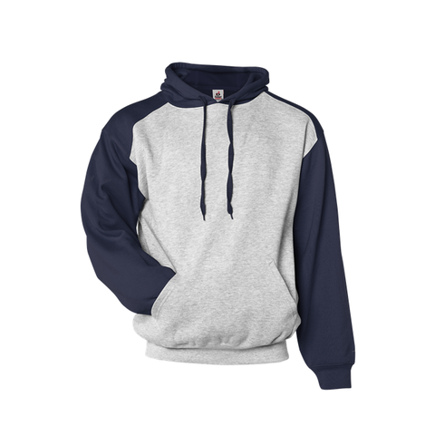 Badger 1249 Athletic Fleece Sport Hood - Oxford Navy