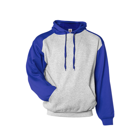 Badger 1249 Athletic Fleece Sport Hood - Oxford Royal