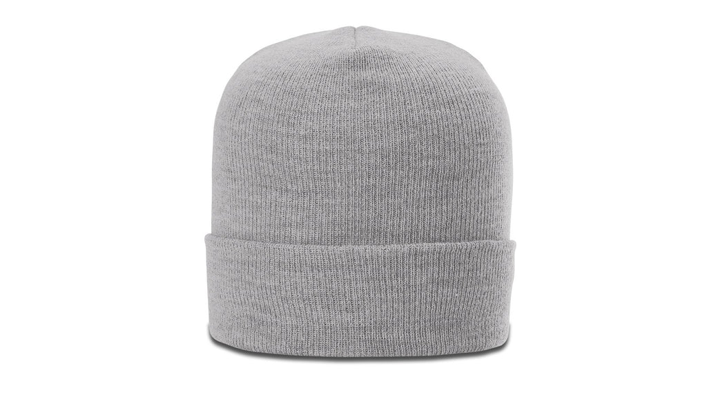 Richardson 137 Heathered Beanie with Cuff - Gray