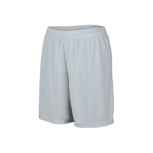 Augusta 1424 Girls Octane Short - Silver