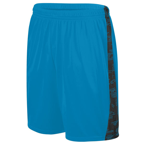 Augusta 1430 Sleet Training Short - Power Blue Black