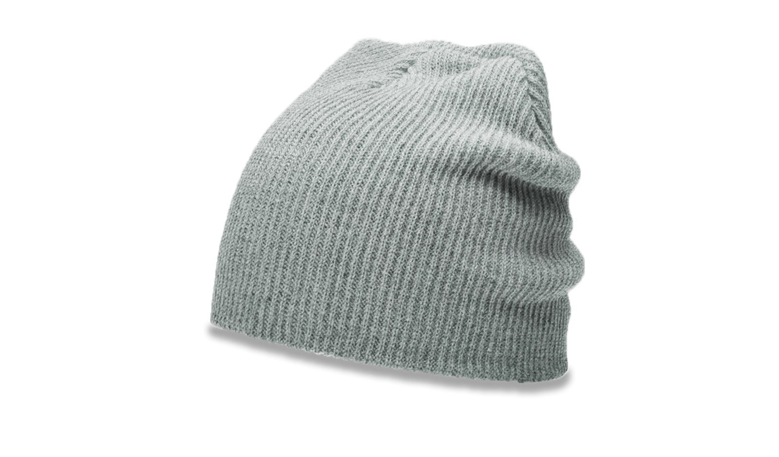 Richardson 147 Slouch Knit Beanie - Heather Gray