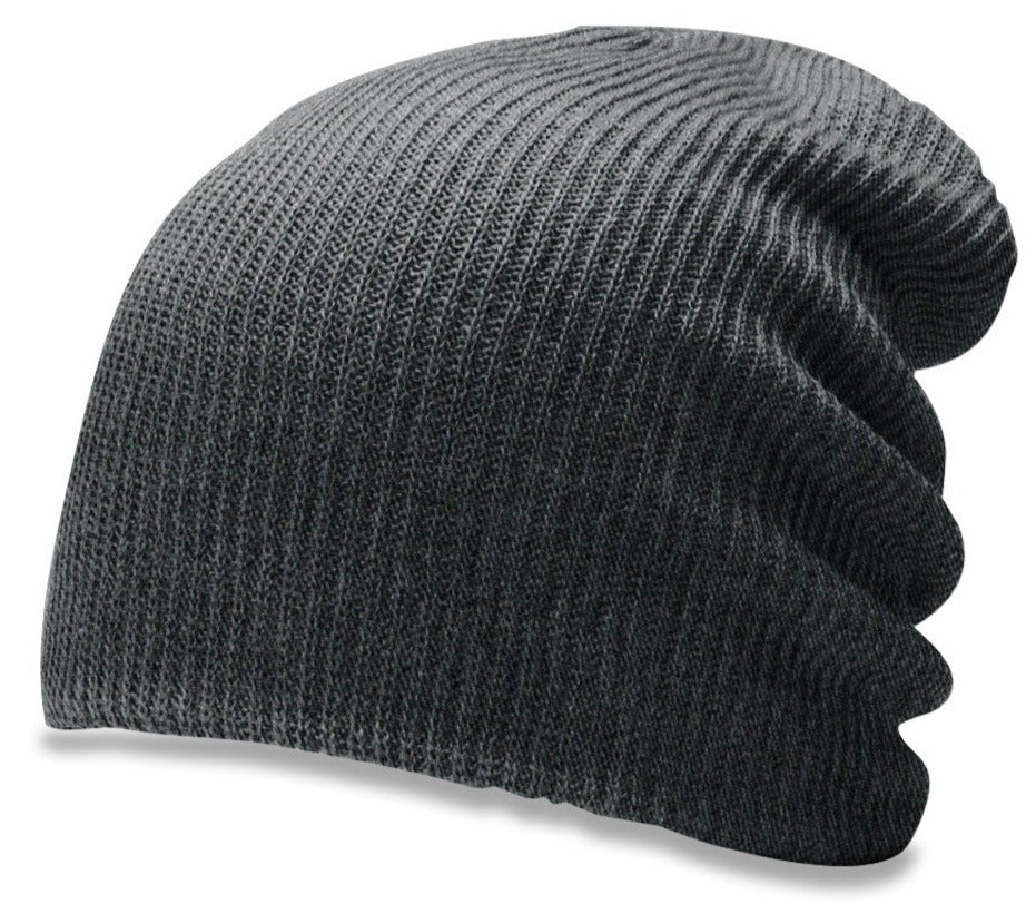 Richardson 149 Super Slouch Knit Beanie - Heather Charcoal