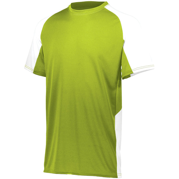 Augusta 1518 Youth Cutter Jersey - Lime White