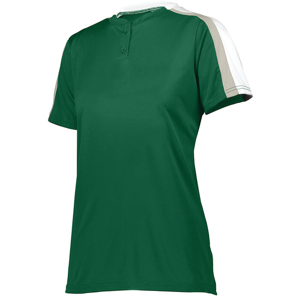 Augusta 1559 Ladies Power Plus 2.0 - Dark Green White Silver Grey