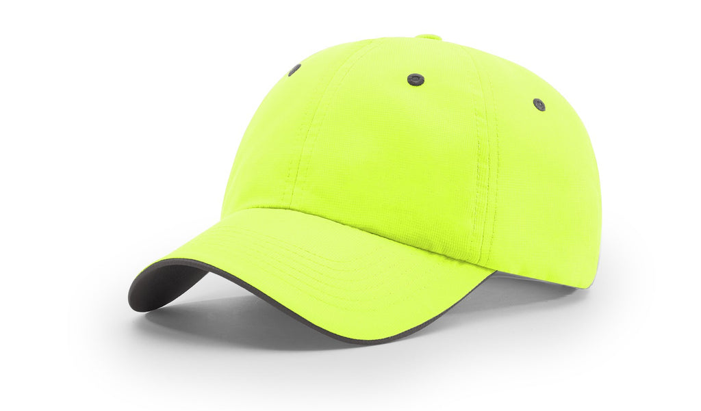 Richardson 155 Lite Trail Cap - Neon Yellow Charcoal