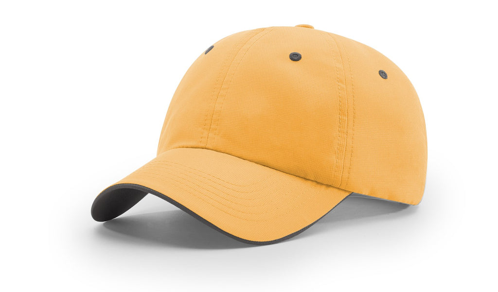 Richardson 155 Lite Trail Cap - Yellow Charcoal