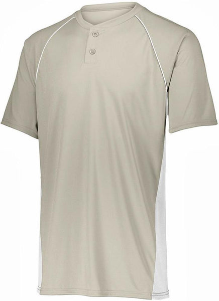 Augusta 1561 Youth Limit Jersey - Silver Grey White