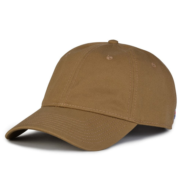 The Game GB210 Classic Relaxed Garment Washed Twill Cap - Coyote Brown