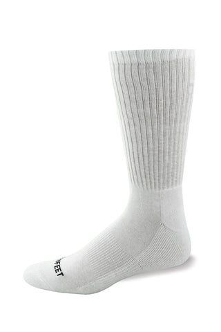 Pro Feet 204 Cotton Crew - White - Golf, Casual Wear, Training/Running - Hit A Double