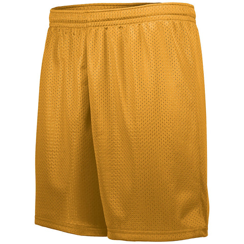 Augusta 1843 Youth Tricot Mesh Short - Gold