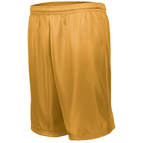 Augusta 1848 Longer Length Tricot Mesh Short - Gold