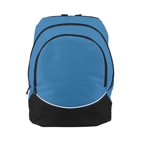 Augusta 1915 Tri-Color Backpack - Columbia Blue Black White - Fangear, Sports Accessories - Hit A Double