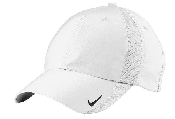 Nike 247077 Sphere Dry Cap - White - HIT A Double