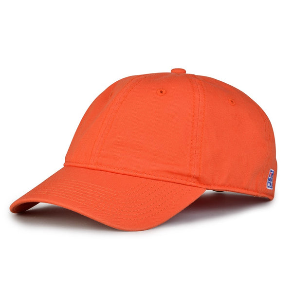 The Game GB210 Classic Relaxed Garment Washed Twill Cap - Orange
