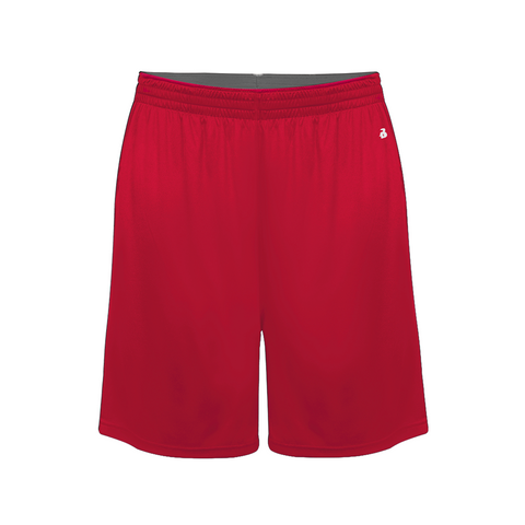 Badger 2002 Ultimate Softlock Youth Short - Red
