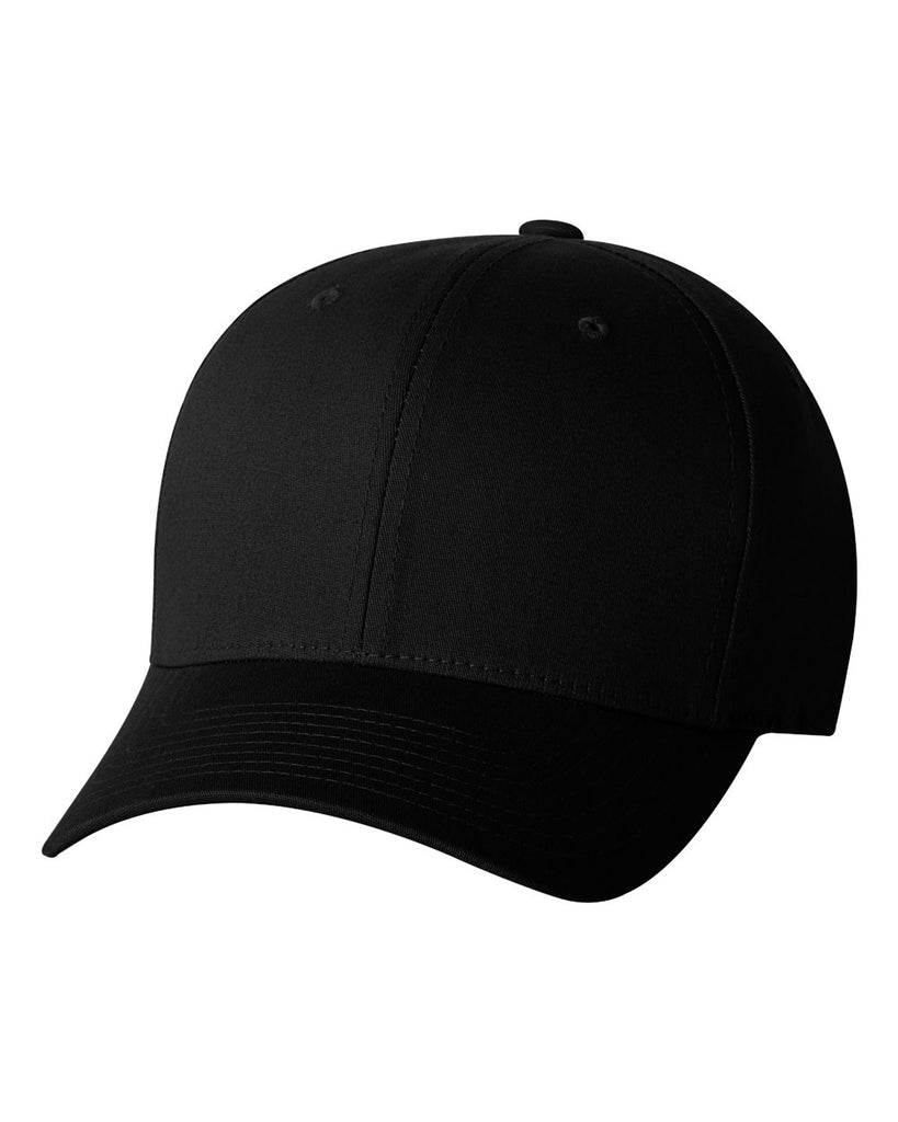 Flexfit 5001 V-Flex Twill Cap - Black