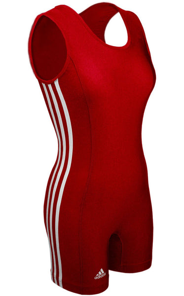 Adidas aSW102s Womens Singlet - Red White