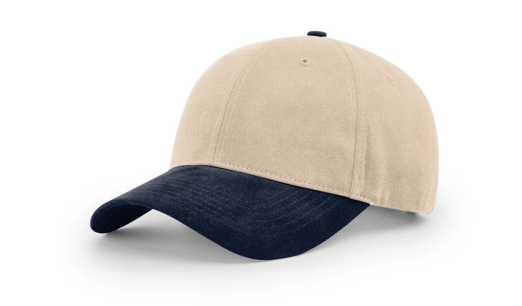 Richardson 203 Brushed Chino Cap - Stone Navy