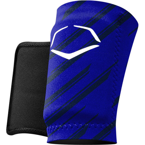 EvoShield Protective Wrist Guard - Stripe Royal - Baseball Accessories - Hit A Double