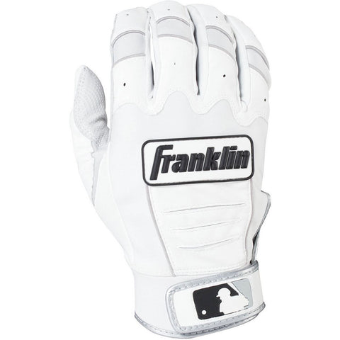 Franklin CFX Pro Adult Batting Gloves - Pearl White