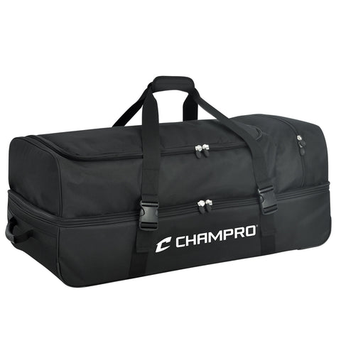 Champro E51 Catcher/Umpire Equipment Bag - 36 X 16 X 14 - Black