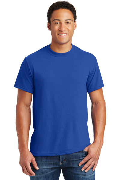 Jerzees 21M Dri-Power Sport 100% Polyester T-Shirt - Royal - HIT A Double