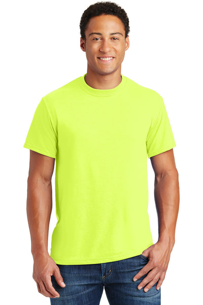 Jerzees 21M Dri-Power Sport 100% Polyester T-Shirt - Safety Green - HIT A Double