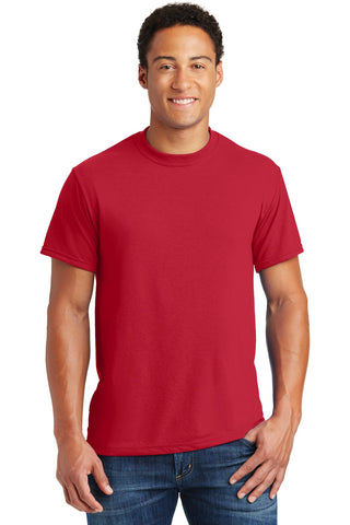 Jerzees 21M Dri-Power Sport 100% Polyester T-Shirt - True Red - HIT A Double