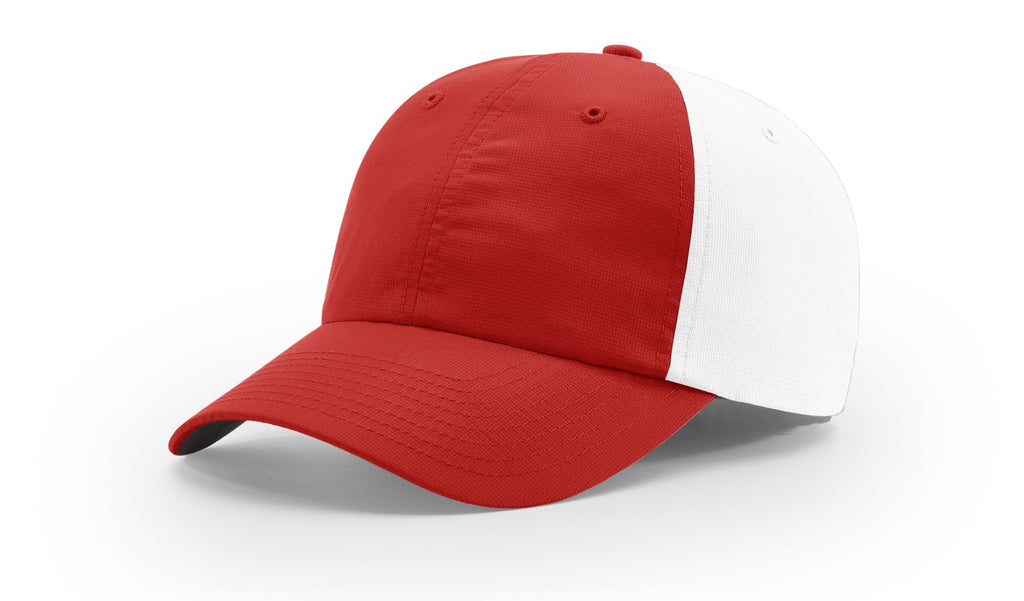Richardson 220 Relaxed Lite Cap - Red White