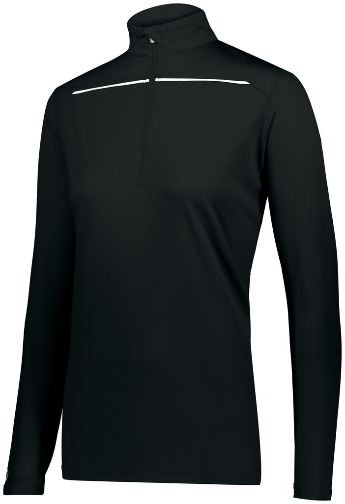 Holloway 222762 Ladies Defer Pullover   - Black White - HIT A Double