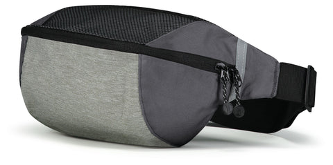Holloway 229011 Expedition Waist Pack - Silver Heather Black
