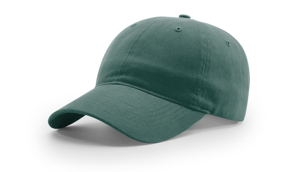 Richardson 232 Brushed Chino Cap - Dark Green