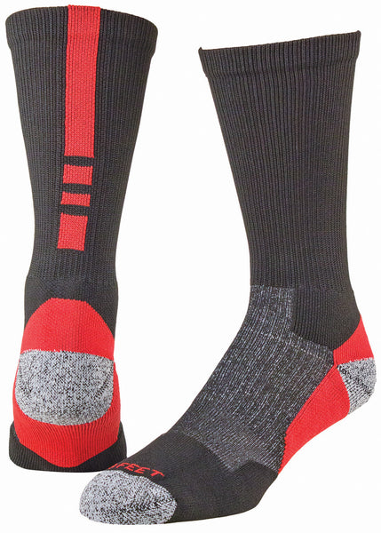 Pro Feet 238 Pro Feet Performance Shooter 2.0 - Black Red - Basketball, Lacross/Field Hockey, Casual Wear - Hit A Double
