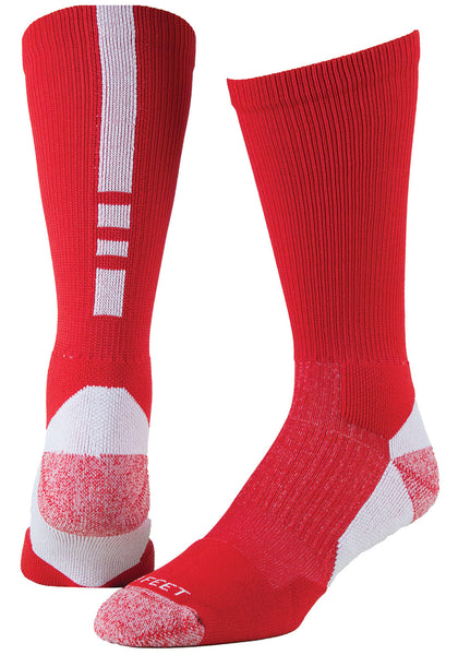 Pro Feet 238 Pro Feet Performance Shooter 2.0 - Red White - Basketball, Lacross/Field Hockey, Casual Wear - Hit A Double