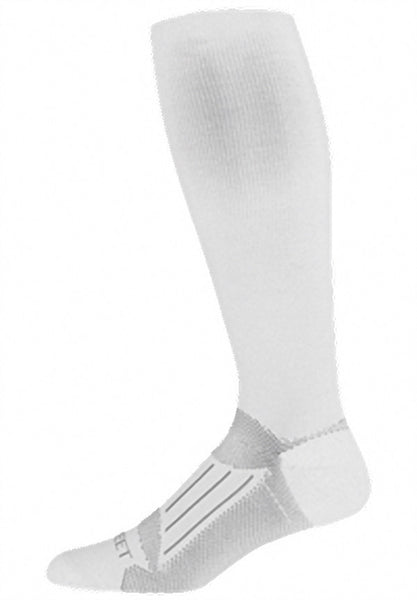 Pro Feet 240 Compression Over The Calf - White - Casual Wear, Work Wear - Hit A Double