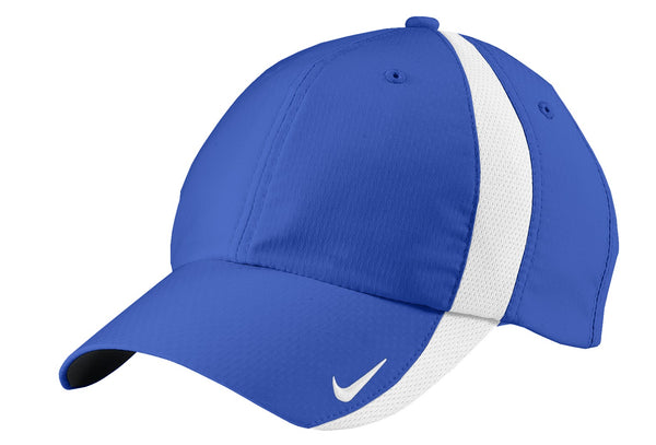 Nike 247077 Sphere Dry Cap - Game Royal White - HIT A Double