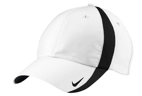 Nike 247077 Sphere Dry Cap - White Black - HIT A Double
