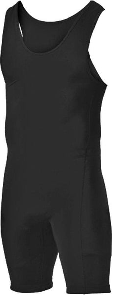 Alleson 250W1A Adult Wrestling Singlet - Black