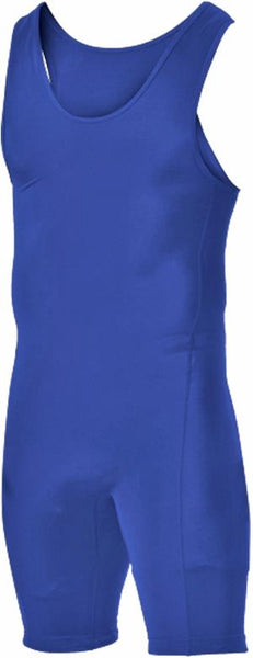 Alleson 250W1Y Youth Wrestling Singlet - Royal