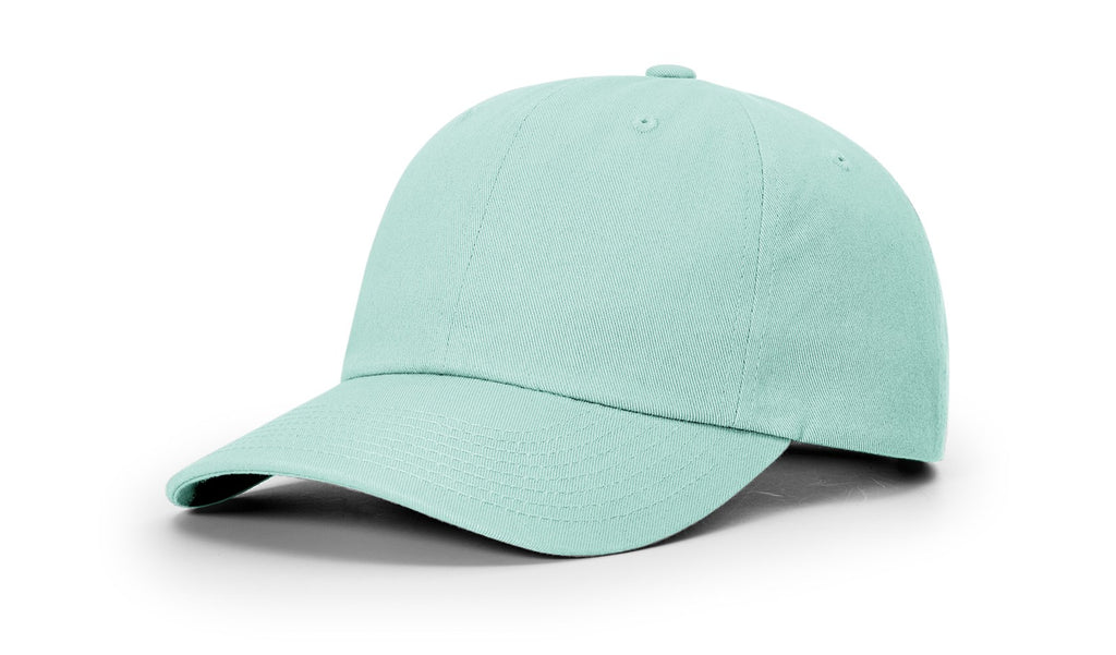 Richardson 252 Premium Cotton Dad Hat Cap - Aruba Blue