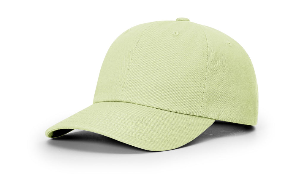 Richardson 252 Premium Cotton Dad Hat Cap - Patina Green