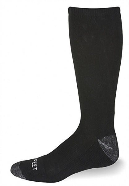 Pro Feet 255 First Responder Boot Sock - Black - Work Wear - Hit A Double