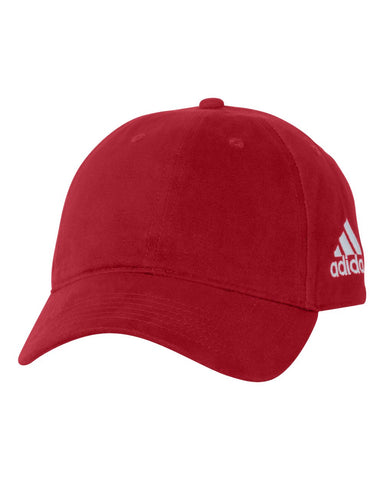 Adidas A12 Core Performance Relaxed Cap - Power Red