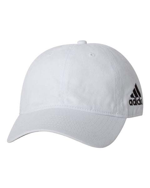 Adidas A12 Core Performance Relaxed Cap - White