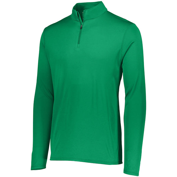 Augusta 2786 Youth Attain 1/4 Zip Pullover - Kelly